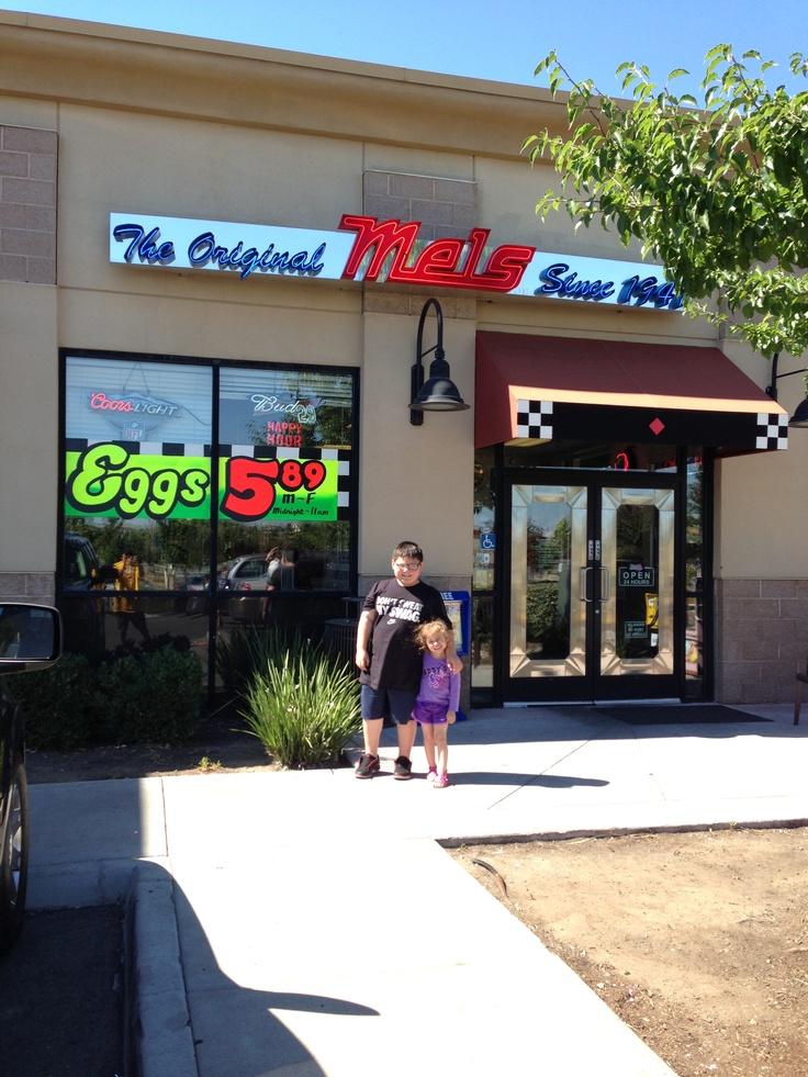 Mel's diner ... Roseville, California