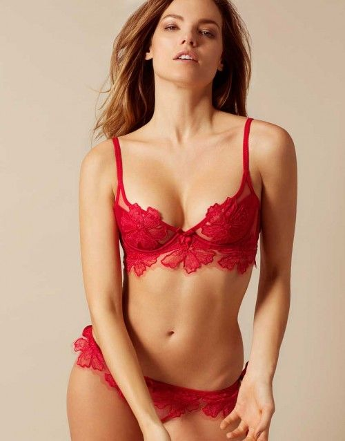 42221515bf2dd $300 Seraphina Red Bra | by Agent Provocateur | Wish List