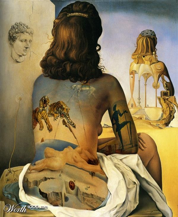 Salvador Dali Born in Spain 1904-1989. Famous Paintings, sculptures, writer, screenwriter. Chantal ~