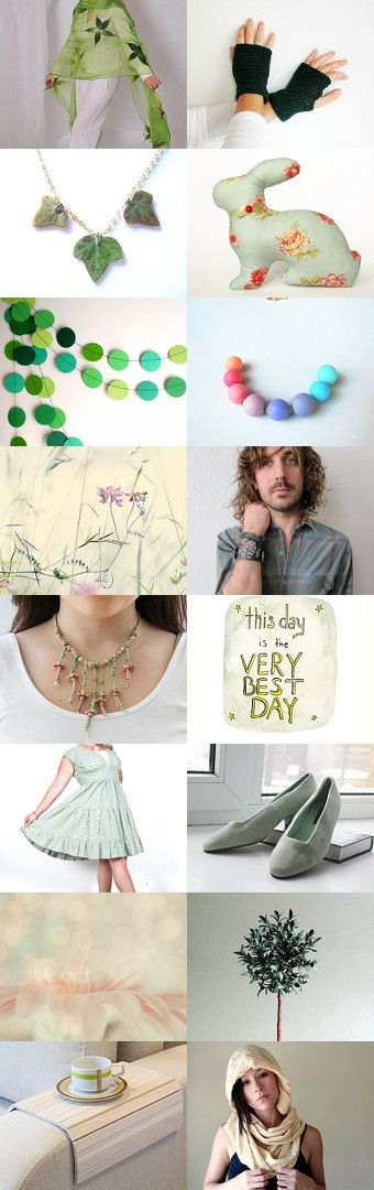 Spring green by Yaroslav and Natalka Pavlysh on Etsy--Pinned with TreasuryPin.com