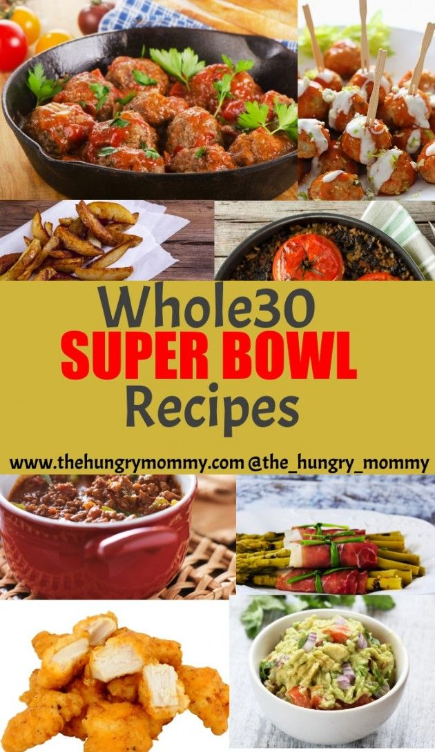 Whole 30 super bowl food appetizers pinterest whole for Super bowl appetizers pinterest