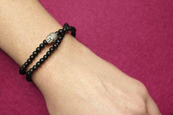 Hey, I found this really awesome Etsy listing at https://www.etsy.com/listing/220068984/balance-mens-buddha-bracelet-matt-onyx