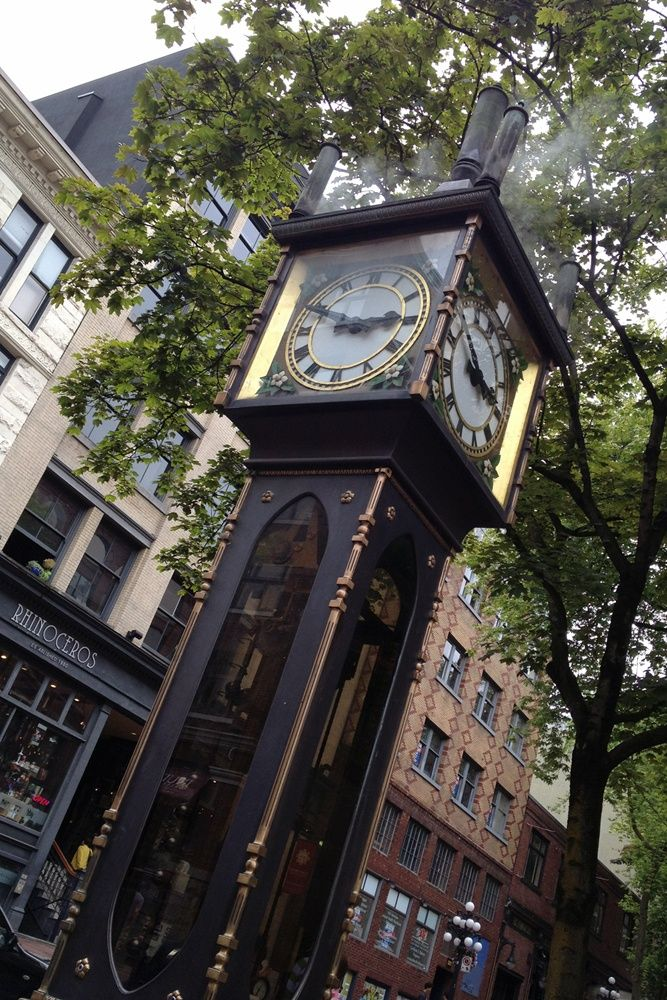Gas Town Steam Clock, Vancouver