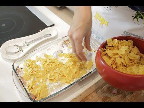 Mısır Gevrekli Tavuk Tarifi - İdil Tatari - Yemek Tarifleri - YouTube