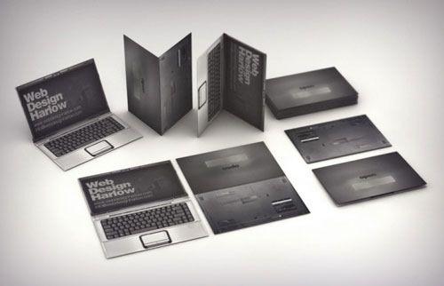 business card for web designer