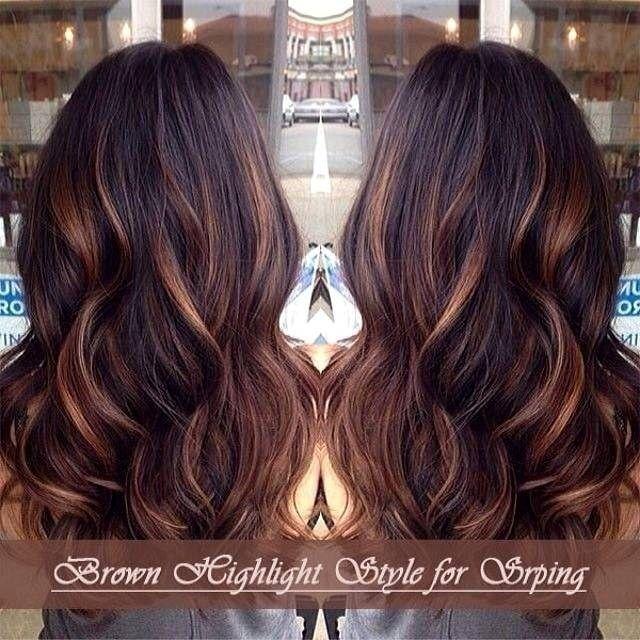 Highlights For Black Hair Indian Hair Styles Cool Hair Color Long Hair Styles