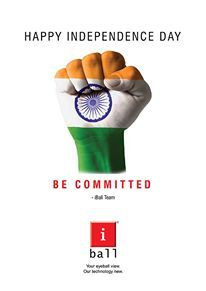 iBall India wishes all a very Happy Independence Day!