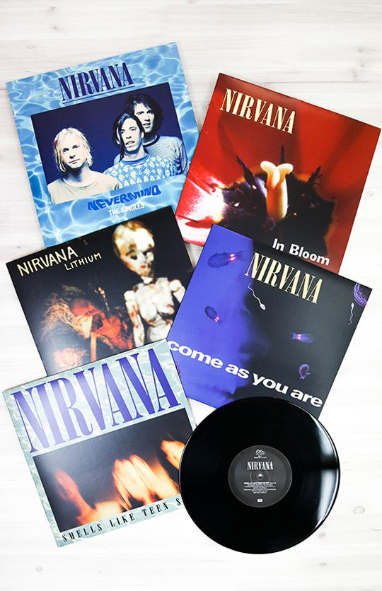 Nirvana - Nevermind: The Singles 4XLP