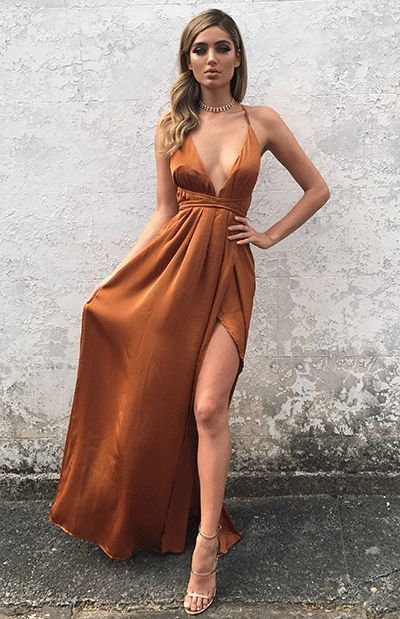 New Fashion | New Women's Clothes & Styles - Beginning Boutique,prom dress ,4399 in 2020 | Orange prom dresses, Ball dresses, Matric dance dresses