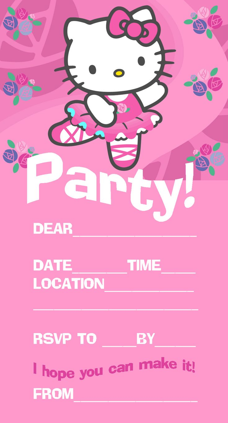 Best 25 Hello kitty invitations ideas on Pinterest Hello kitty