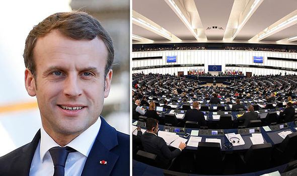 Macron to change voting system for EU elections in move which could BLOCK Eurosceptics
