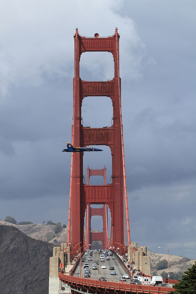 Blue Angel, Golden Gate Bridge