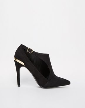 New Look Sevens Cut Out Heeled Shoe Boots - LOVE LOVE LOVE! http://asos.do/gfu5VT