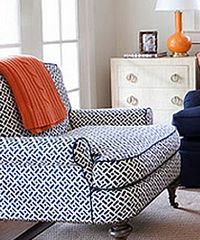 Quadrille Fabrics- great chair