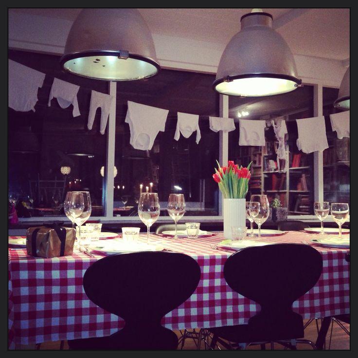 Italian theme dinner NYE 1914