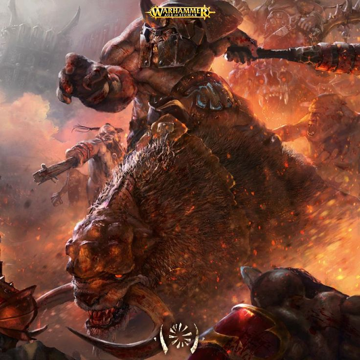 Amazing Artwork: Beastclaw Raiders - Faeit 212: Warhammer 40k News and Rumors
