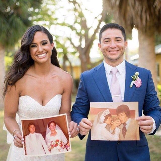 {#dica} Adoramos esse resgate das fotos dos pais e avós no grande dia! ❤️ www.quemcasaquerdicas.com   Conhece o autor da foto? Avise para darmos os devidos créditos!  #gradedia #noivos #casamento #quemcasaquerdicas