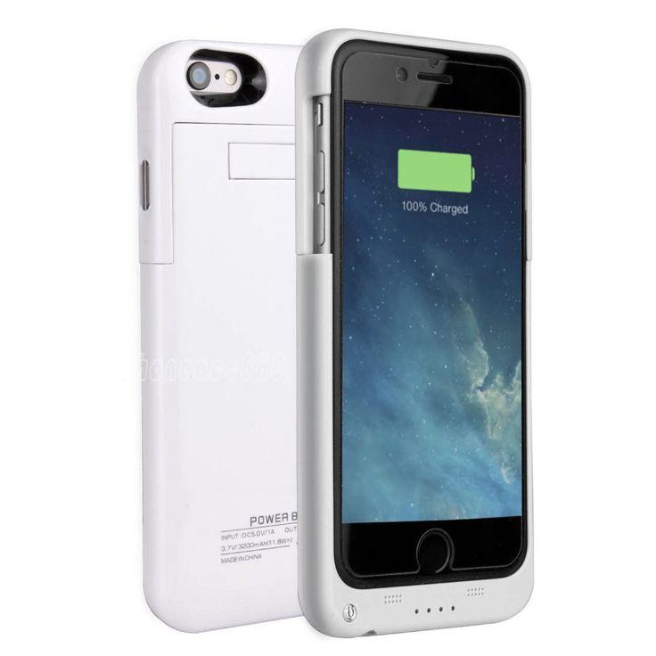 Quantum Energy Battery iPhone 6/6S Plus Case (4800mAh) - White