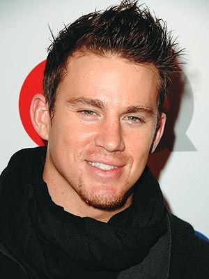 Channing Tatum - It was hard not to put a body shot on here, but he looks so cute in this pic!