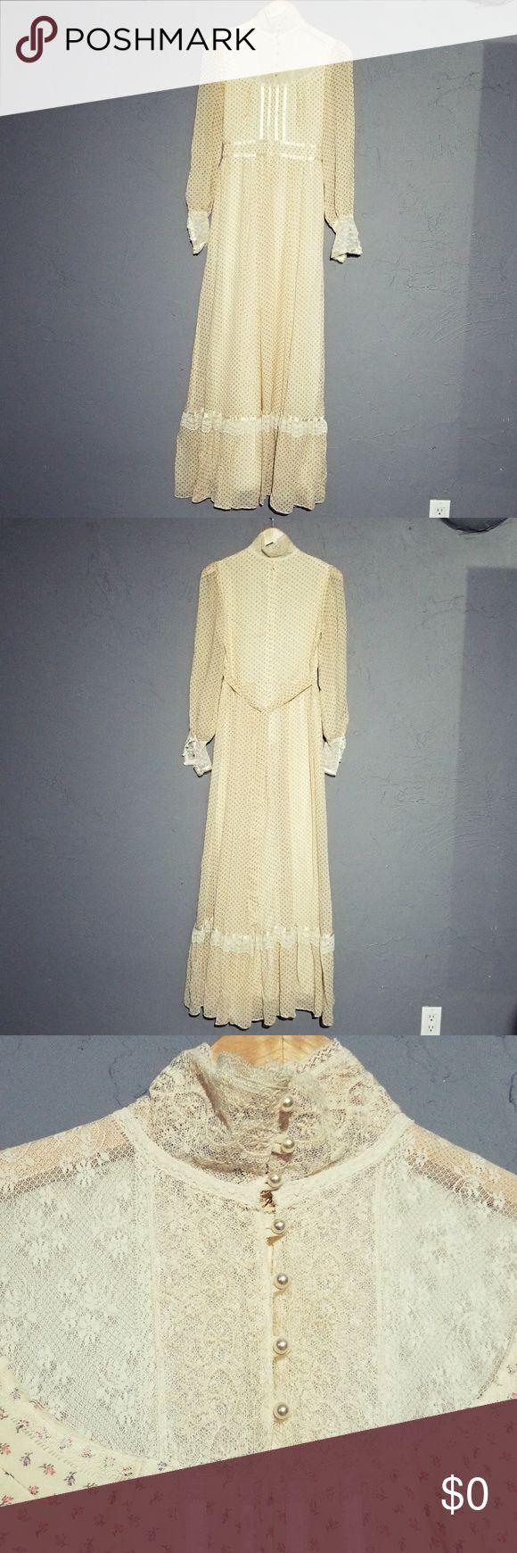 I just added this listing on Poshmark: Gunne Sax by Jessica Yellow Prairie Dress c 1970's. #shopmycloset #poshmark #fashion #shopping #style #forsale #Gunne Sax #Dresses & Skirts