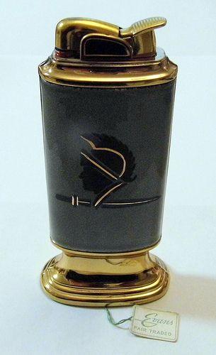 Vintage Evans Table Cigarette Lighter
