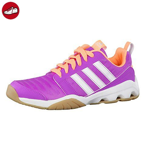 adidas Kinder Klett Schuhe Hallenschuhe Indoorschuhe Turnschuhe GymPlus 3 K pink, Größe:UK 5.5 (38 2/3) - Adidas schuhe (*Partner-Link)
