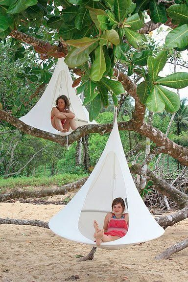 If I had trees I would do this. Kids would love this and me especially...