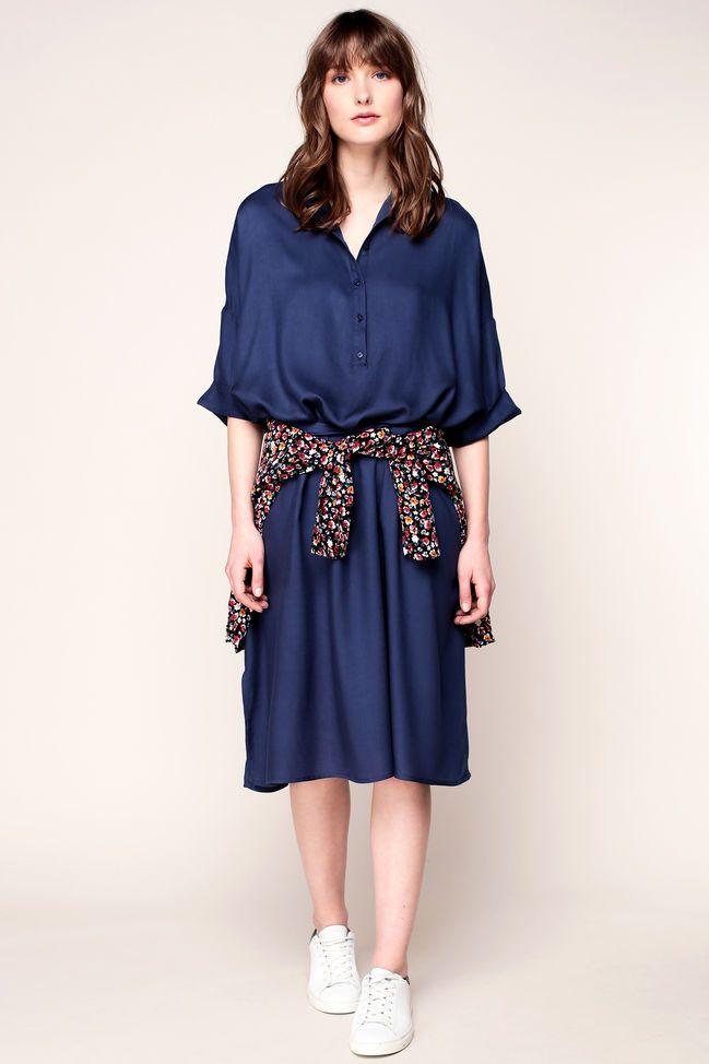 Vestido camisa - lix119 - Azul / Marina de guerra 1