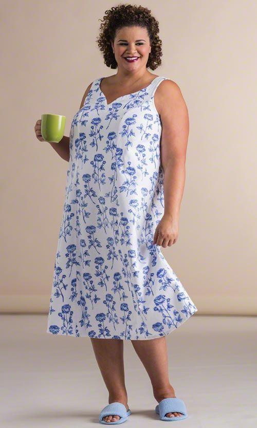 Sloane Nightgown/ MiB Plus Size Fashion for Women