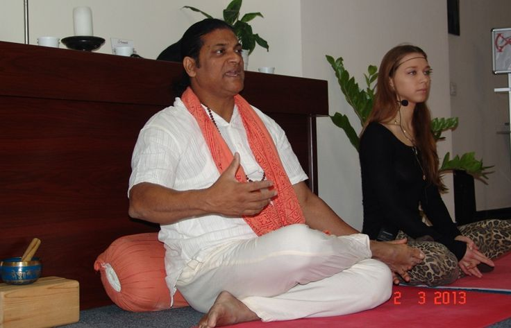 One must be able to see the darkness and hear the silence before one can feel the presence of God.   Swami Kripananda.