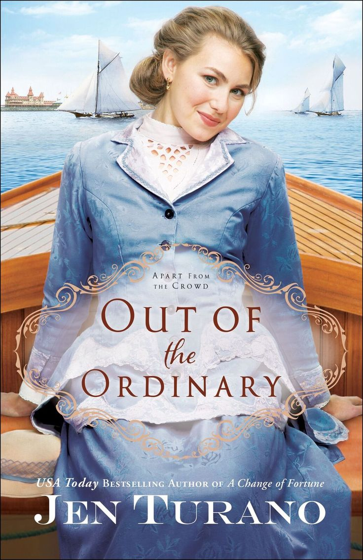 If you enjoy historical romances laced with humor, you'll definitely want to check out Out of the Ordinary by Jen Turano! #HistoricalFiction #ChristianFiction #Giveaway via @www.pinterest.com/sarahruut