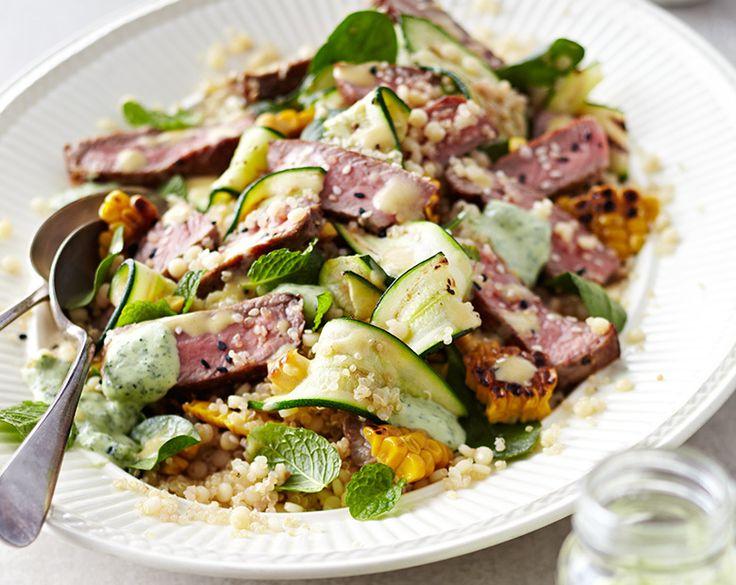 Beef & Grain Salad Recipe | Beef + Lamb New Zealand