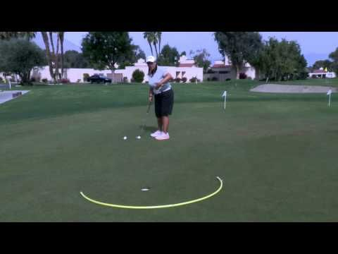 LPGA Learning Center: Putting it close - YouTube #lpga #lpgaseewhy #golf #golftip