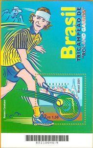 Roland Garros Championship - Gustavo Kuerten