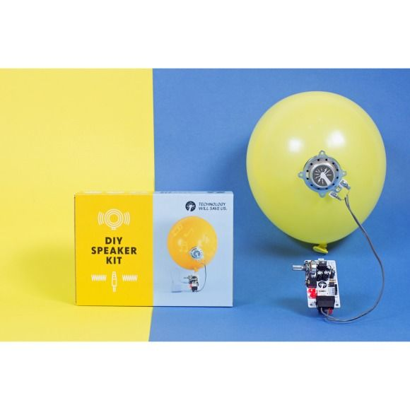 Tech Will Save Us diy speaker kit   hardtofind.