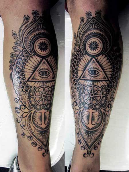 Tatuagens na Perna Femininas e Masculinas Mais