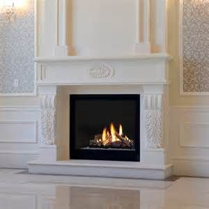 Marble Fireplace Mantel, Marble Fireplace Surround Kits, Custom ...
