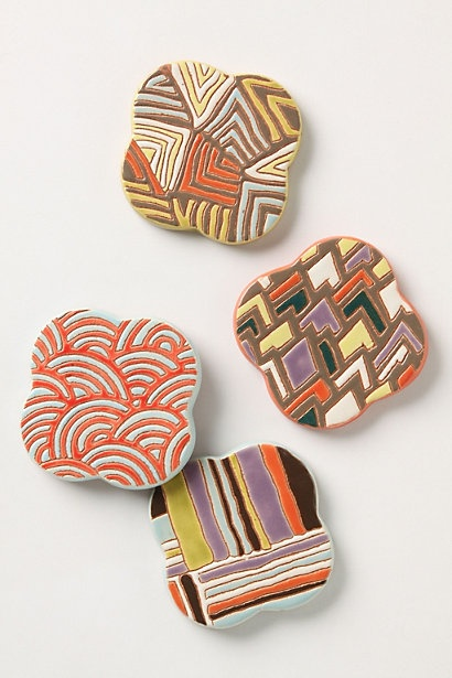 Zippy Coasters by Anthropologie