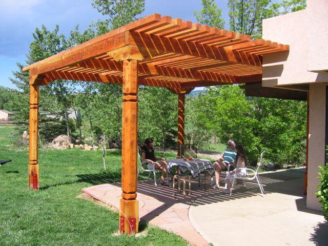 Southwest Post Designs   Wood Posts, Vigas, Beams, Corbels ... Pergola  DesignsPergola IdeasBackyard IdeasPatio ...
