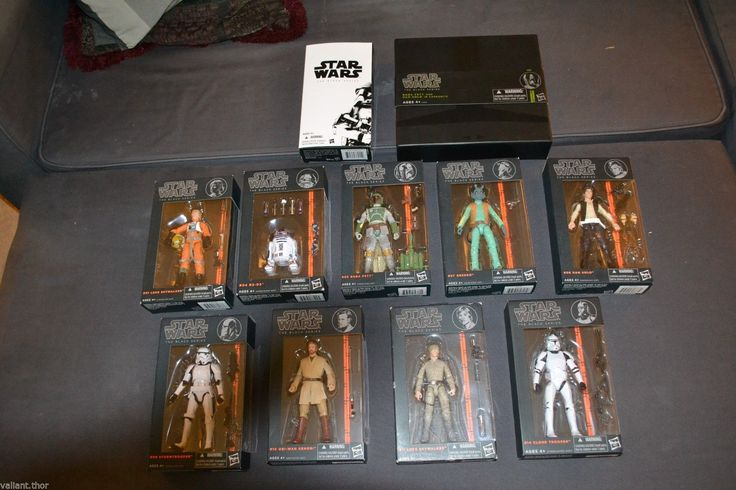 Huge Star Wars Black Series Collection w Exclusives and Many Rares | eBay
