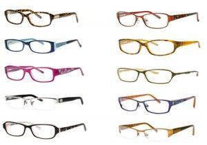 Designer eyeglass frames