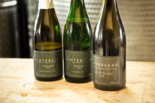Can't say enough about Hinterland Wine - fantastic bubbles from Prince Edward County. Beautifully produced and well-priced. Who says bubbles are only for special occasions?