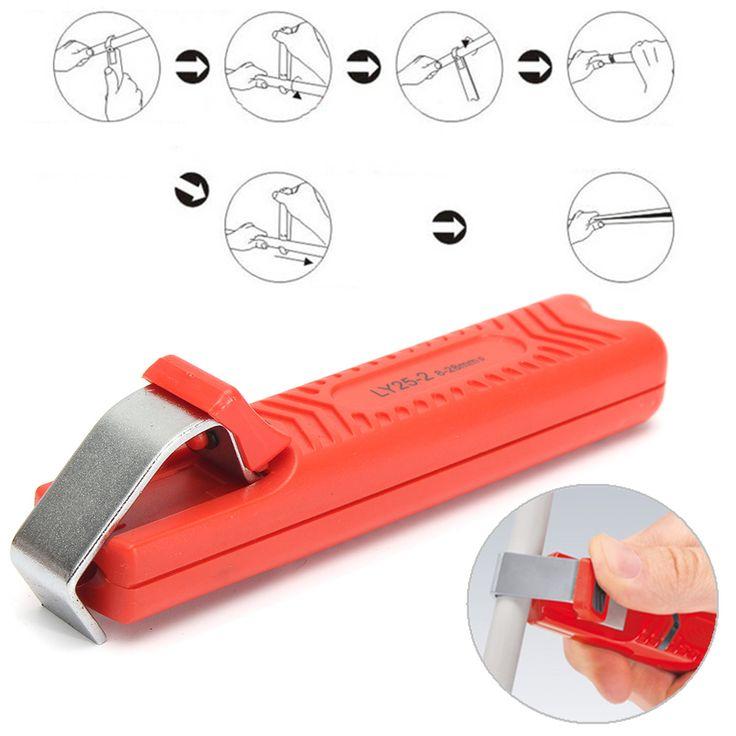 LY25-2 8-28mm Abisolierzange Abisolierzange Zange Crimpwerkzeug für PVC Gummi-Kabel