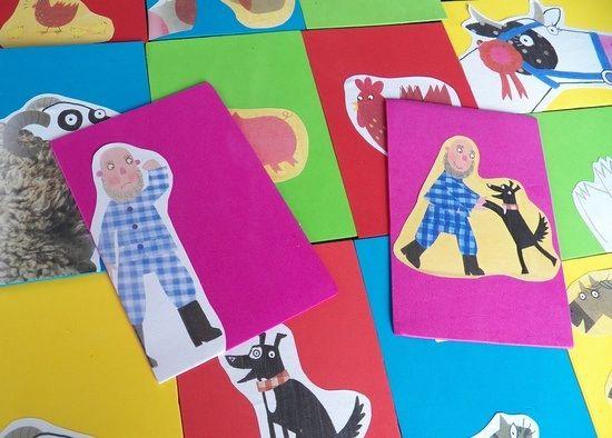 Quan a final de curs, alguns contes de l'aula no els trobeu en bon estat, cal planificar una estona per fer-ne una tria i arranjar-los. Alguns amb una mica de cinta adhesiva es podran recompondre però d'altres haureu de donar usos diversos a les seves pàgines soltes. Unes de les activitats que podeu fer amb elles és retallar les imatges dels personatges per fer-ne titelles de pal o targetes per potenciar l'expressió oral construint noves histories.