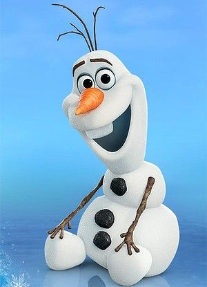 Frozen's Olaf.                                                                                                                                                                                 More