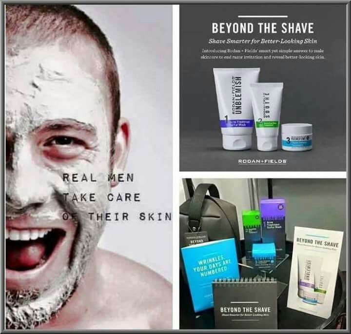 Men want great skin too! Get smooth skin while you shave, no more red/irritated skin  #shave #Getgreatskin