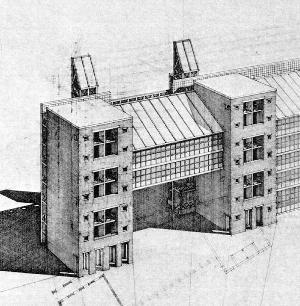 Aldo Rossi   Edificio de Apartamentos Südliche Friedrichstadt   Berín  1981-1988