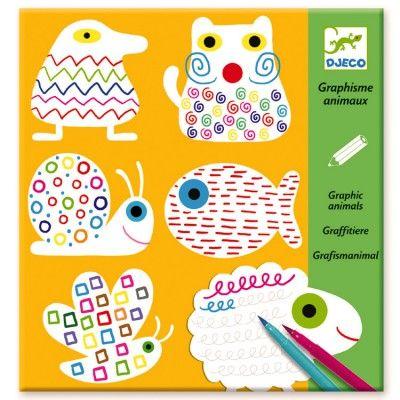 Graphismes animaux - Djeco-08939