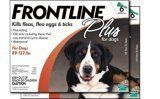 Merial Frontline Plus for Dogs, 89 to 132-Pound, 12-Pack ** Read more at the image link.