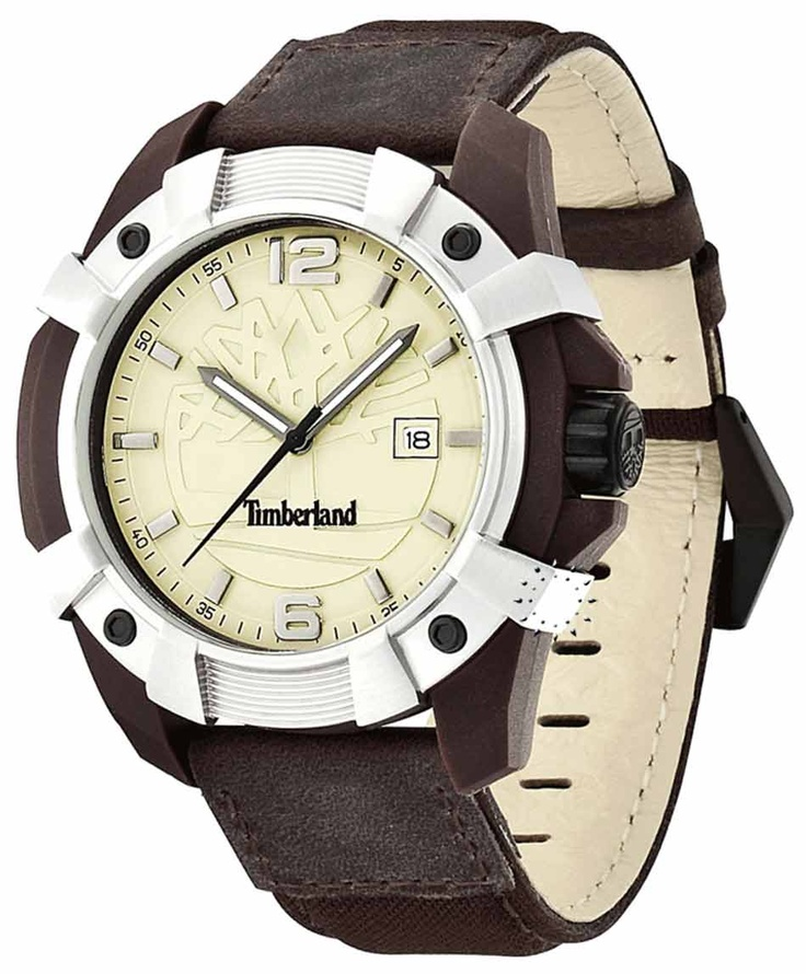 TIMBERLAND Chocorua Brown Leather Strap Μοντέλο: T13326JPBNS-07 Τιμή: 117€ http://www.oroloi.gr/product_info.php?products_id=32759